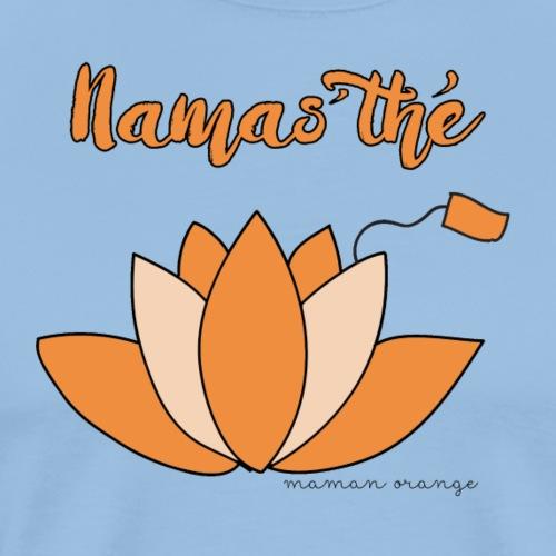 Lotus Thé Orange - T-shirt Premium Homme