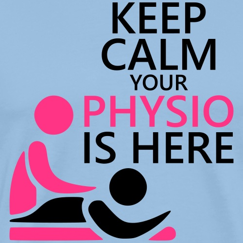 Physio Keep Calm - Männer Premium T-Shirt