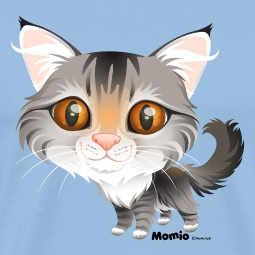 Kissa - Miesten premium t-paita