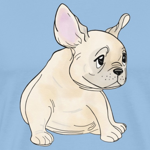 Baby Frenchie - T-shirt Premium Homme