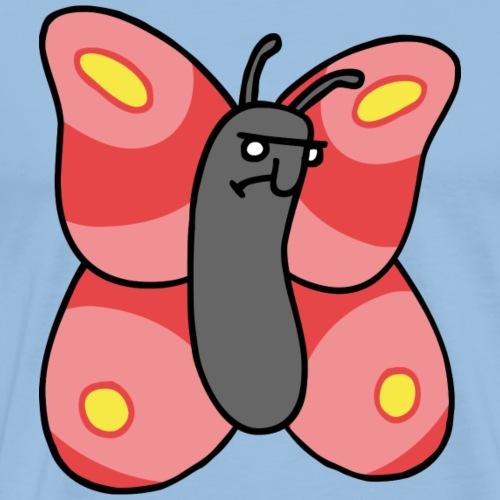 Ugly Butterfly - Männer Premium T-Shirt