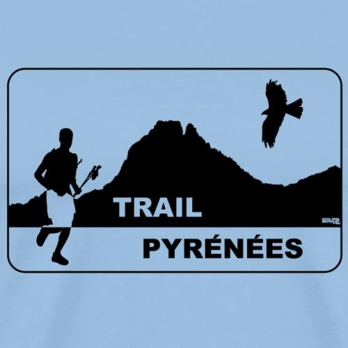 Trail Pyrénées V3 - T-shirt Premium Homme