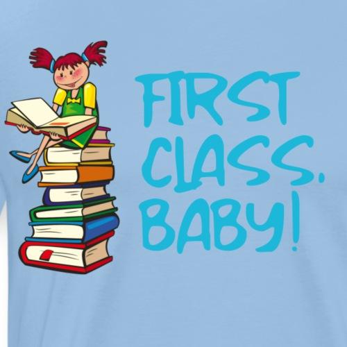 First Class Baby Blau