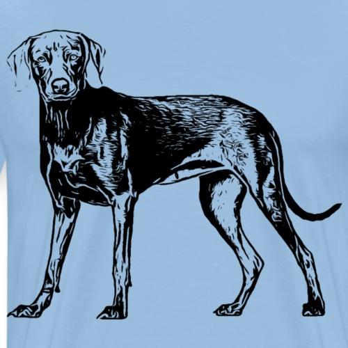 Weimaraner / Hunde Design Geschenkidee - Männer Premium T-Shirt