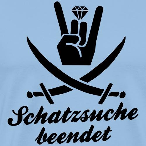 Schatzsuche beendet - Junggesellinnen Abschied - Männer Premium T-Shirt