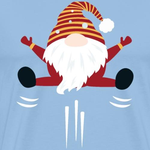 gnome lutin scandinave de noel - T-shirt Premium Homme