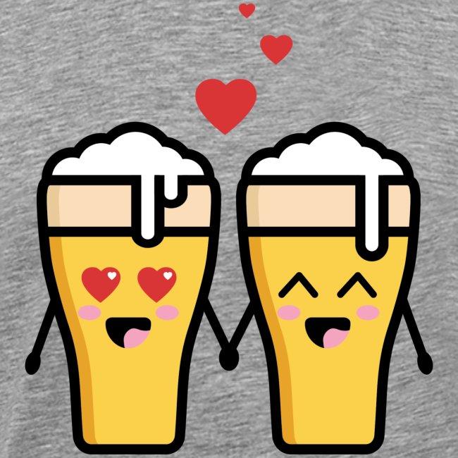 Beer love kawaii