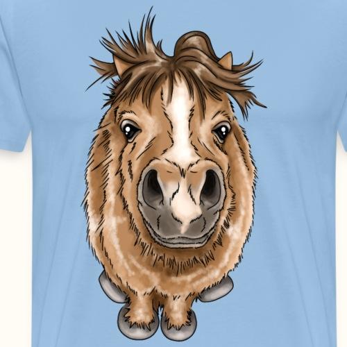 Kleines Pony - Männer Premium T-Shirt