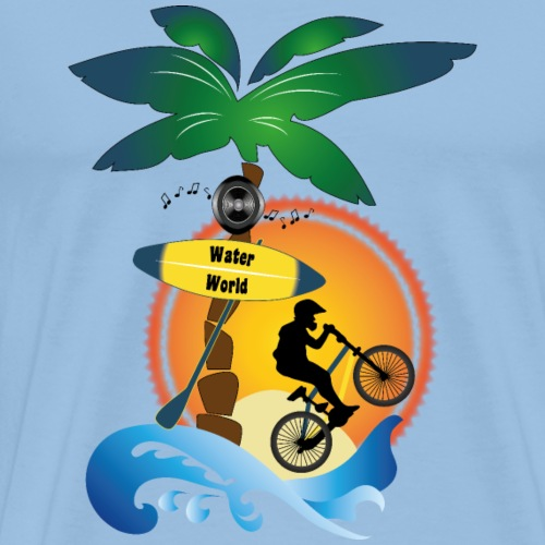 Le Monde de la glisse - T-shirt Premium Homme