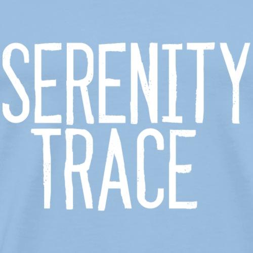 Serenity Trace LOGO W - Premium T-skjorte for menn