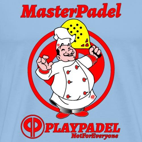 PLAYPADEL MasterPadelRosso - Maglietta Premium da uomo