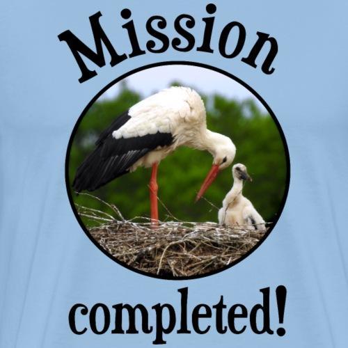 Süßes Geschenk zur Geburt Taufe Baby Mädchen Junge - Männer Premium T-Shirt