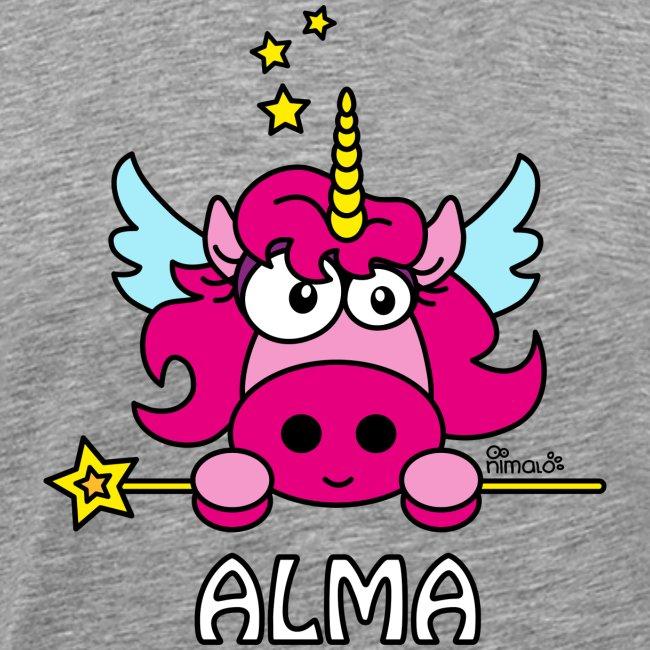 Unicorno con nome, Alma