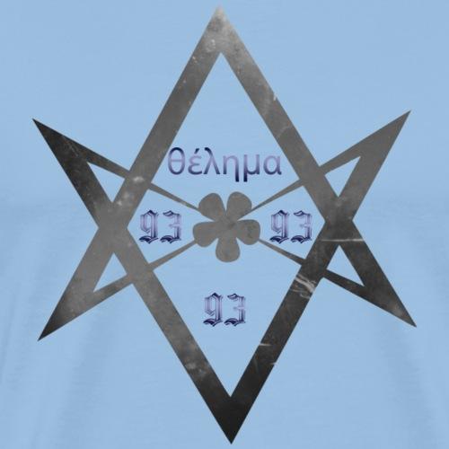 BW Hexagram - Men's Premium T-Shirt