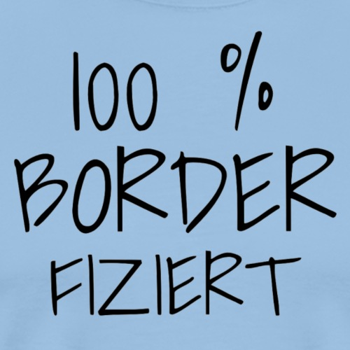Border Collie - Männer Premium T-Shirt
