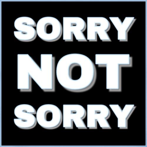 Sorry Not Sorry light blue - Men's Premium T-Shirt