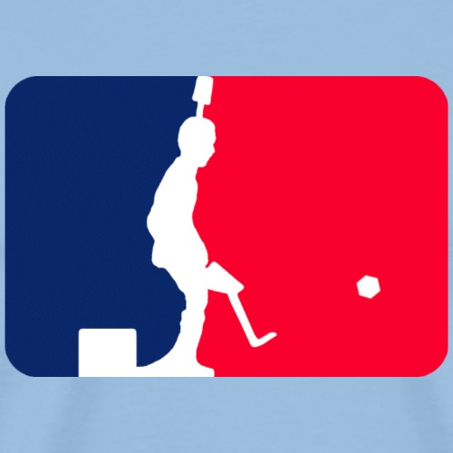 Major League Tipp-Kick - Männer Premium T-Shirt