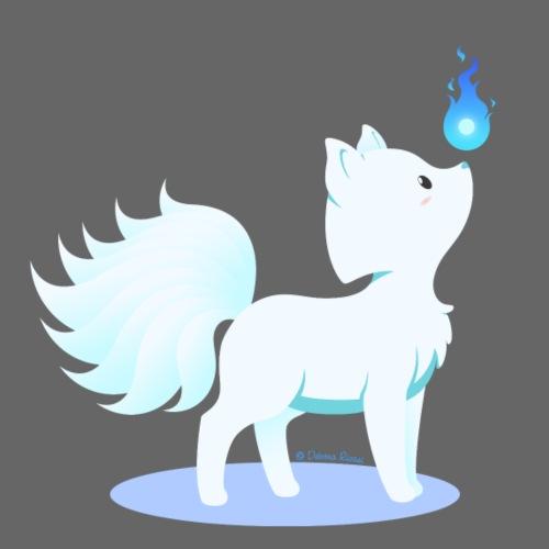 Animali fantasy kawaii - Volpe a 9 code
