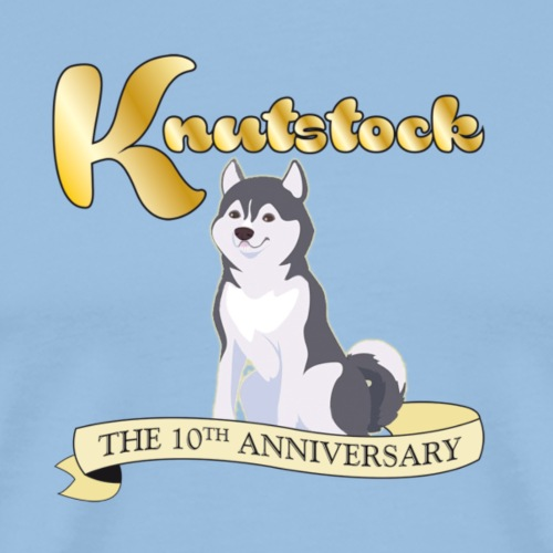 KnutstockAnniversaryBanner Hufky - Männer Premium T-Shirt