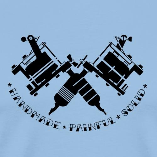 Tattoo Gunz II - Männer Premium T-Shirt