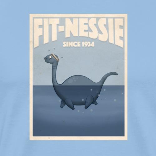 FIT-NESSIE - Maglietta Premium da uomo
