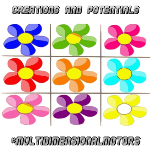 logo of my #MultiDimensionalMotors blog - Maglietta Premium da uomo