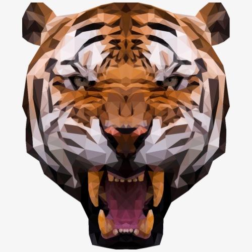 Polygon Tiger - Koszulka męska Premium