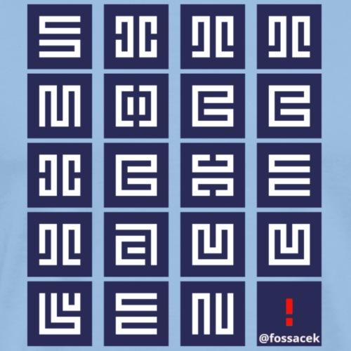 SittMocciche - Maglietta Premium da uomo