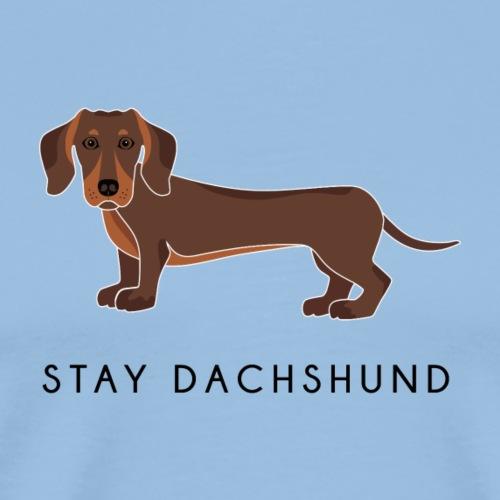 Dachshund Brown - Maglietta Premium da uomo