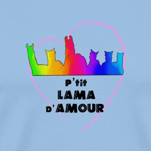 lama d'Amour - T-shirt Premium Homme
