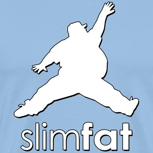 slimfat_logo - Männer Premium T-Shirt