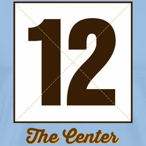 Center12 Marplo - Maglietta Premium da uomo