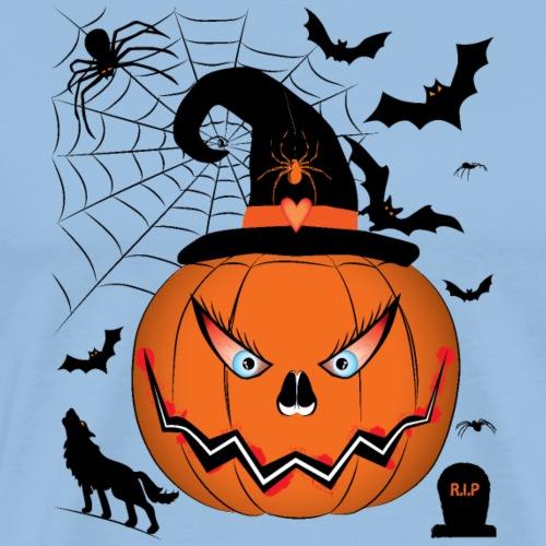 Halloween Pumpkin - T-shirt Premium Homme