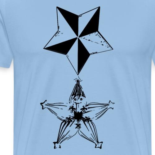Memories - Kingdom Hearts -Negro - Camiseta premium hombre
