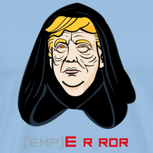 Emperor Trump Error - Männer Premium T-Shirt