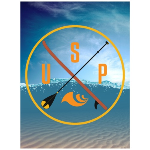 Stand up paddling, SUP - Männer Premium T-Shirt