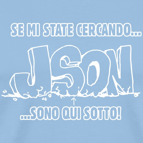 Under the JSON - Maglietta Premium da uomo