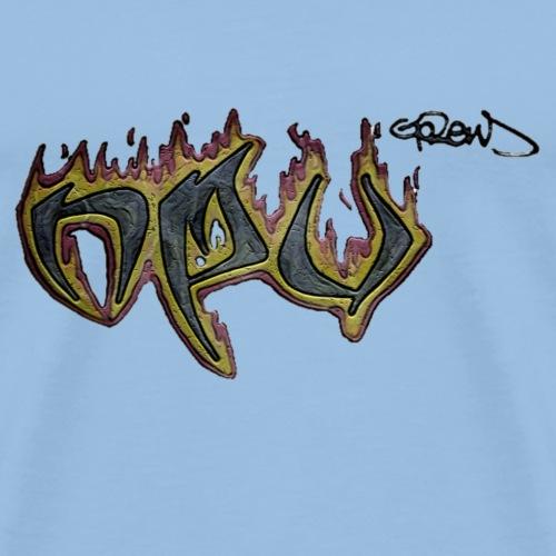 npucrewtransparent - Männer Premium T-Shirt