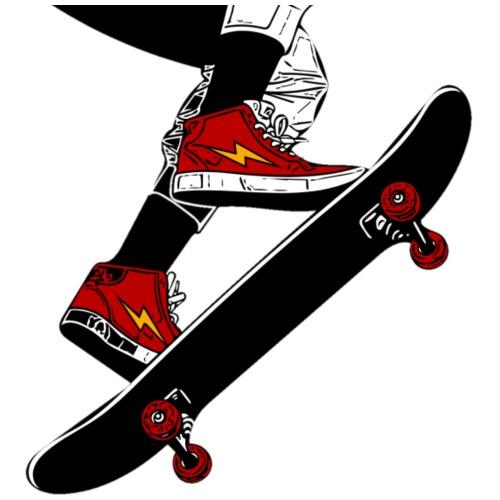 Skating - Maglietta Premium da uomo