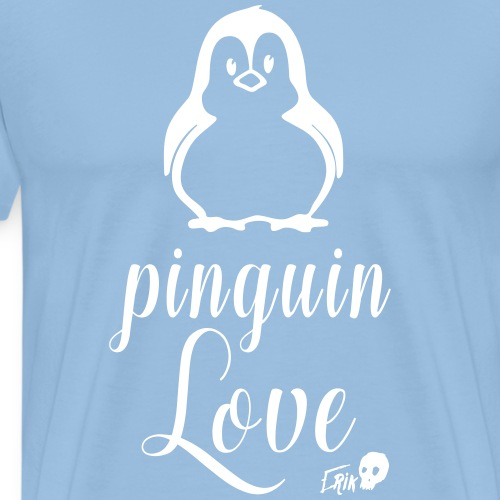 Penguin Love - Men's Premium T-Shirt