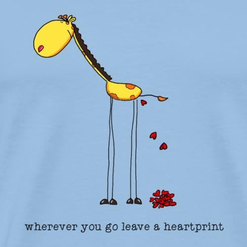 heartprint - Männer Premium T-Shirt