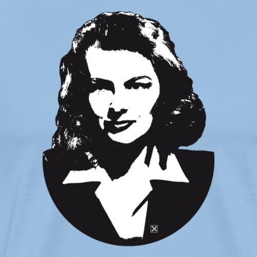 Katharine Hepburn - Camiseta premium hombre