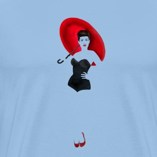 Pin up - Red Umbrella - Maglietta Premium da uomo