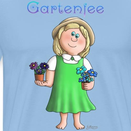 Süßes Garten Mädchen - Gartenfee - Männer Premium T-Shirt