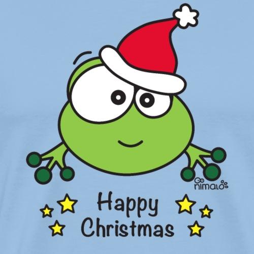 Grenouille, Frog, Fêtes Nôel, Happy Christmas - T-shirt Premium Homme