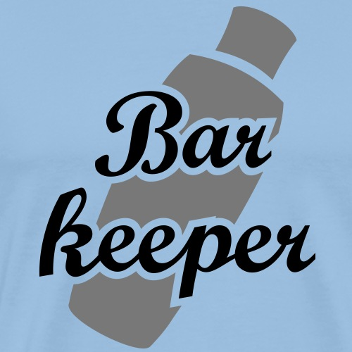 Barkeeper Shaker Mixer Shake Drinks Party Alkohol - Männer Premium T-Shirt