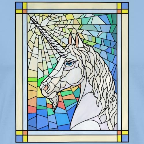 Unicorn In Glass - Men's Premium T-Shirt