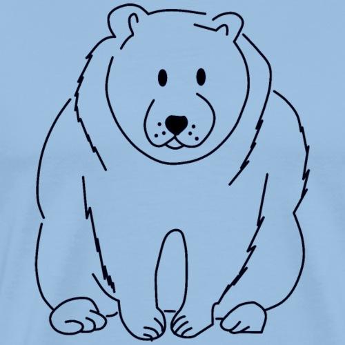ours polaire - ours polaire - faune arctique - T-shirt Premium Homme