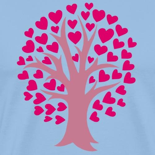 Love Grows - Miesten premium t-paita