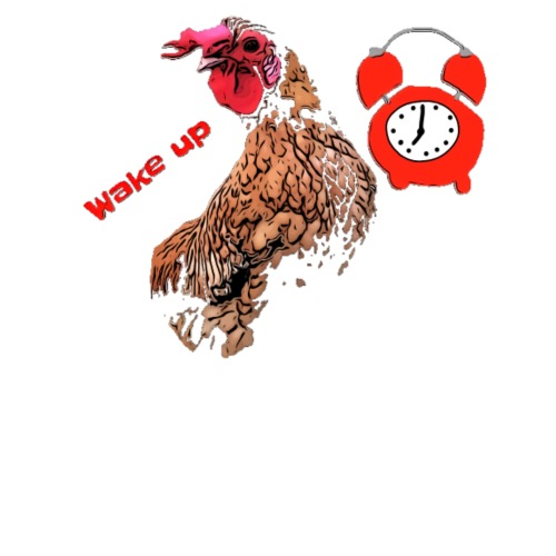 Wake up, the cock crows - Men's Premium T-Shirt